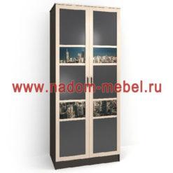 Стайл люкс ДФ2-7 шкаф