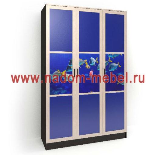 Стайл люкс ТФ3-3 шкаф