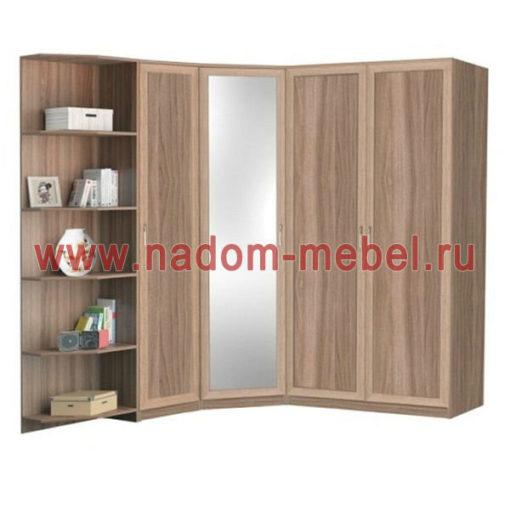 Стиль-2М угловой шкаф