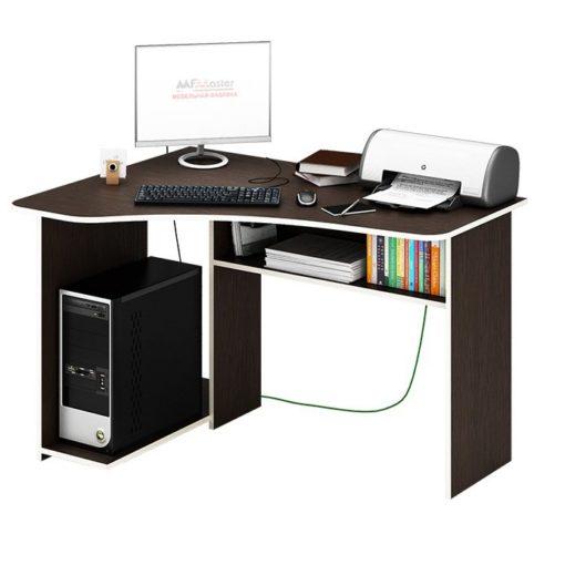 Триан-1 угловой компьютерный стол (ФМ)