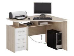 Триан-5 правый угловой компьютерный стол (ФМ)