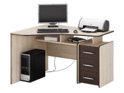Триан-5 угловой компьютерный стол (ФМ)
