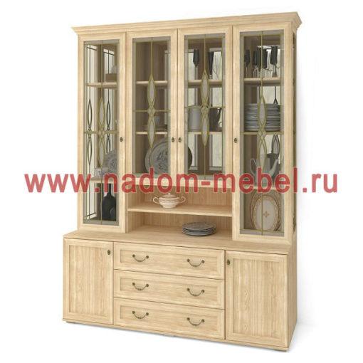 Витраж-11В шкаф для посуды