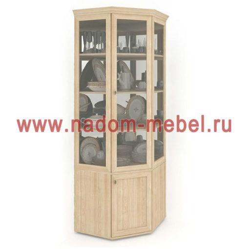 Витраж-1С угловой шкаф для посуды