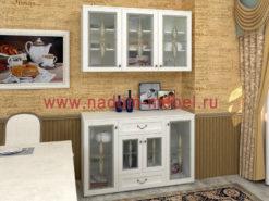 Витраж-23В стенка для посуды