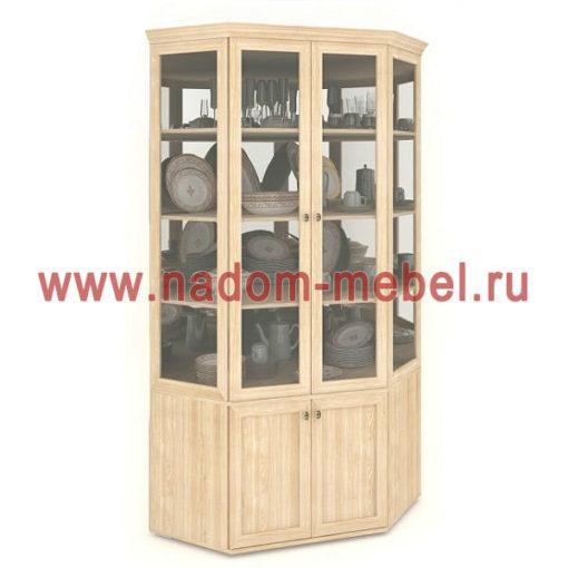 Витраж-2С угловой шкаф для посуды