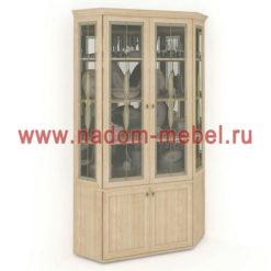 Витраж-2В угловой шкаф для посуды