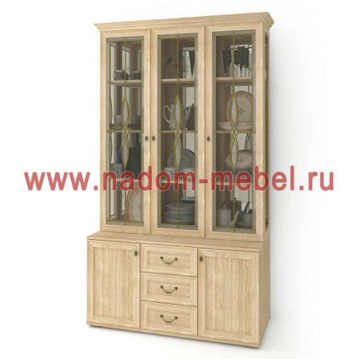 Витраж-7В шкаф для посуды